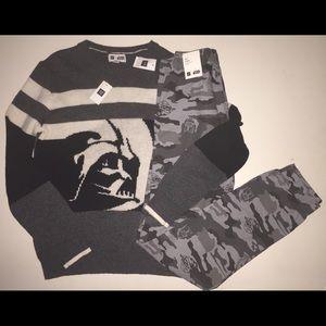 Gap Kids Star Wars Sweater Pants boy's xxl 14 16